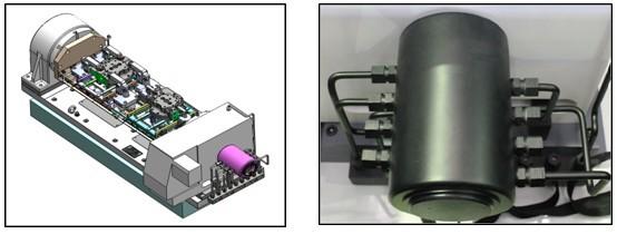 在四轴端盖液压夹具设计中,有用到旋转油路分配器,目前市面能购买到的图片